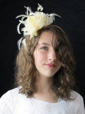 Ivory & White Fascinators